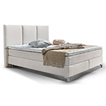 Atlantic Home Collection Creme Boxspringbett