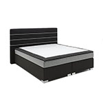 Atlantic Home Collection Schwarz Boxspringbett